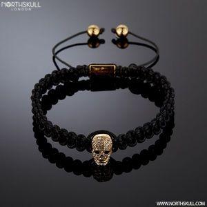 North skull bracelet.